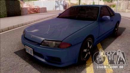 Nissan Skyline R32 Blue para GTA San Andreas