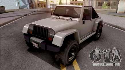 GTA V Canis Mesa Grande IVF Style para GTA San Andreas