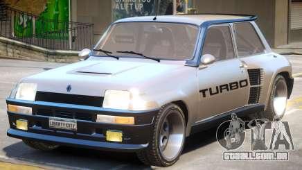 Renault 5 Turbo No ENB para GTA 4