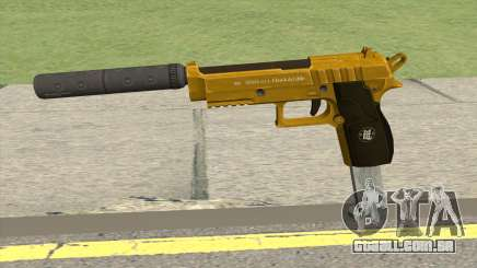 Hawk And Little Pistol GTA V (Gold) V7 para GTA San Andreas
