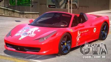 Ferrari 458 PJ para GTA 4