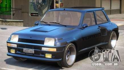 Renault 5 Turbo ENB para GTA 4