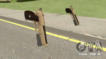 Hawk And Little Pistol GTA V (Army) V4 para GTA San Andreas