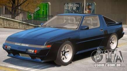 1986 Mitsubishi Starion V1 para GTA 4