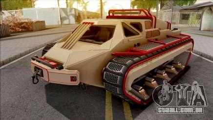 GTA V HVY Scarab FS Track Weels Moving IVF para GTA San Andreas