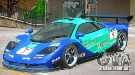 McLaren F1 V1 PJ2 para GTA 4