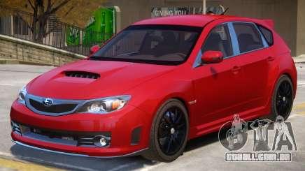 Subaru Impreza STI V2 para GTA 4