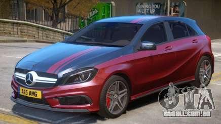 Mersedes Benz A45 V1 PJ8 para GTA 4
