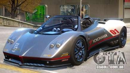 Pagani Zonda C12S V1.3 para GTA 4