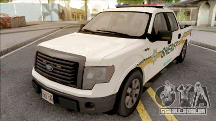 Ford F-150 2013 Red County Sheriff Office para GTA San Andreas