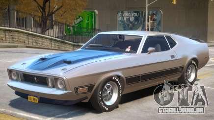 1973 Ford Mustang R1 para GTA 4