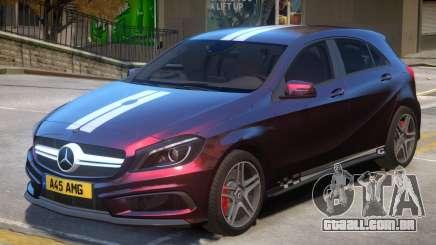 Mersedes Benz A45 V1 PJ10 para GTA 4