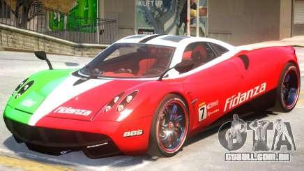 Pagani Huyara V1 PJ2 para GTA 4
