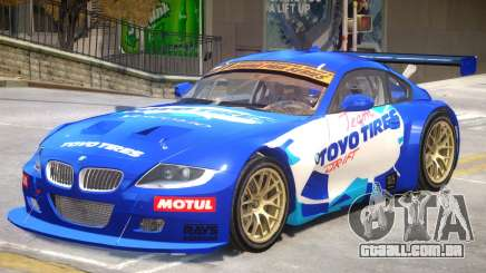 BMW Z4 Toyo Tires Edition para GTA 4