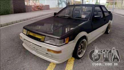 Toyota AE86 Levin Coupe Touge Special para GTA San Andreas