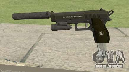 Hawk And Little Pistol GTA V (Green) V3 para GTA San Andreas