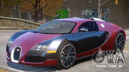 Bugatti Veyron V1 R2 para GTA 4