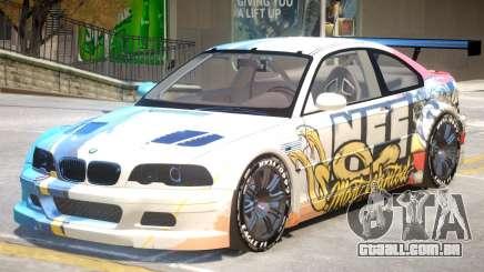 BMW M3 GTR PJ5 para GTA 4