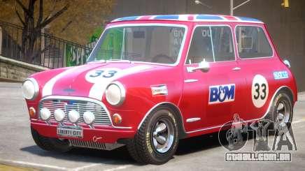Mini Cooper V1 PJ2 para GTA 4