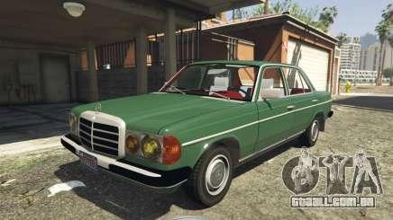 Mercedes-Benz 230 W123 1978 v2.0 para GTA 5