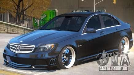 Mercedes Benz C63 Upd para GTA 4