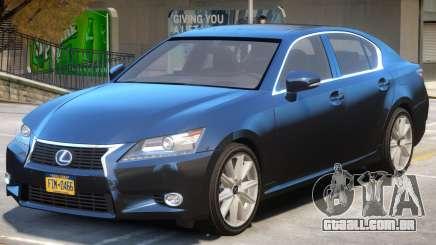 Lexus GS300H para GTA 4