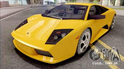 Lamborghini Murcielago Yellow para GTA San Andreas