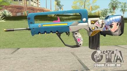 Famas Weaboo para GTA San Andreas