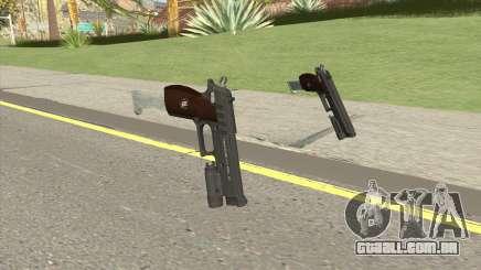 Hawk And Little Pistol GTA V Black (New Gen) V5 para GTA San Andreas
