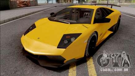 Lamborghini Murcielago LP670-4 SV Yellow para GTA San Andreas