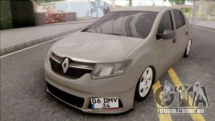 Renault Symbol 2020 para GTA San Andreas