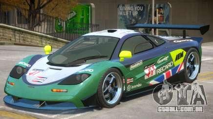 McLaren F1 V2 PJ4 para GTA 4