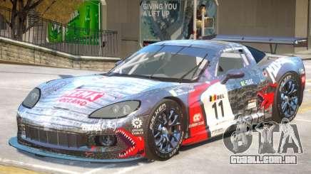 Chevrolet Corvette GT PJ1 para GTA 4