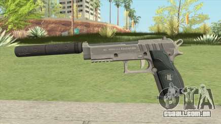 Hawk And Little Pistol GTA V Black (Old Gen) V6 para GTA San Andreas