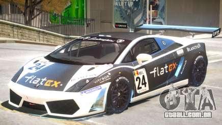 Lamborghini Gallardo GT3 PJ1 para GTA 4