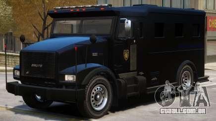 SWAT Armored Van para GTA 4