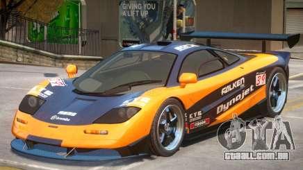 McLaren F1 V2 PJ1 para GTA 4
