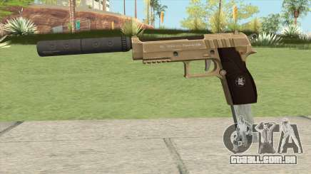 Hawk And Little Pistol GTA V (Army) V7 para GTA San Andreas