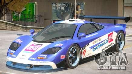 McLaren F1 V1 PJ1 para GTA 4