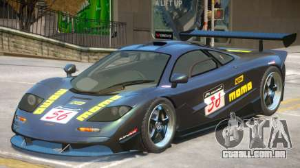McLaren F1 V1 PJ4 para GTA 4