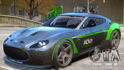Aston Martin Zagato V1 PJ1 para GTA 4