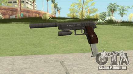 Hawk And Little Pistol GTA V Black (New Gen) V3 para GTA San Andreas