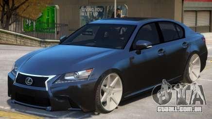 Lexus GS 350 V1 para GTA 4