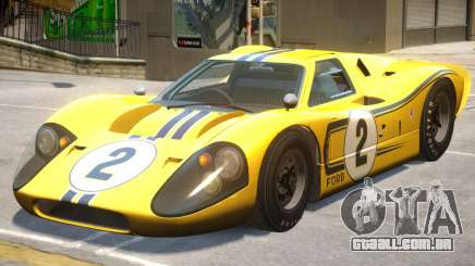 1967 Ford GT40 PJ1 para GTA 4