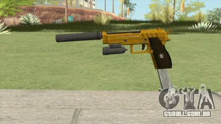 Hawk And Little Pistol GTA V (Gold) V3 para GTA San Andreas