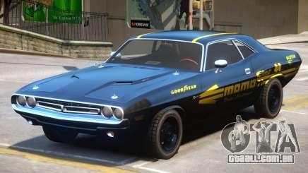 1971 Challenger V1.3 para GTA 4