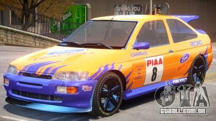 Ford Escort RS PJ1 para GTA 4