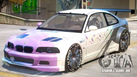 BMW M3 GTR PJ3 para GTA 4