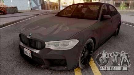 BMW M5 2019 para GTA San Andreas