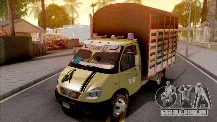GAZ 3302 Colombiano v2 para GTA San Andreas